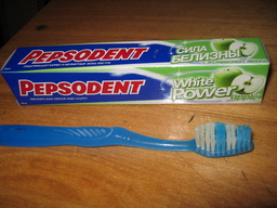Supremacist Toothpaste?