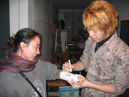 Kitami signs Nisagul's Cast